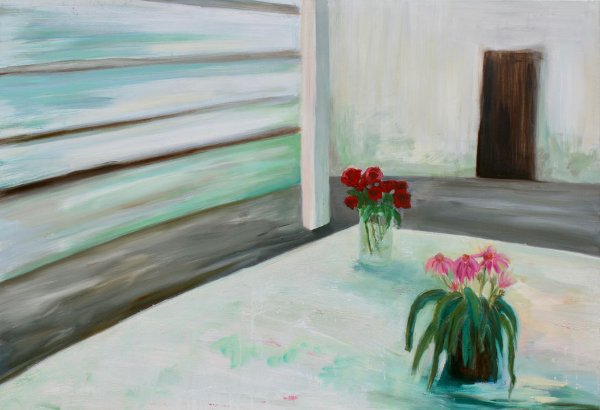 Atelier, 2019, Öl auf Leinwand, 90x130