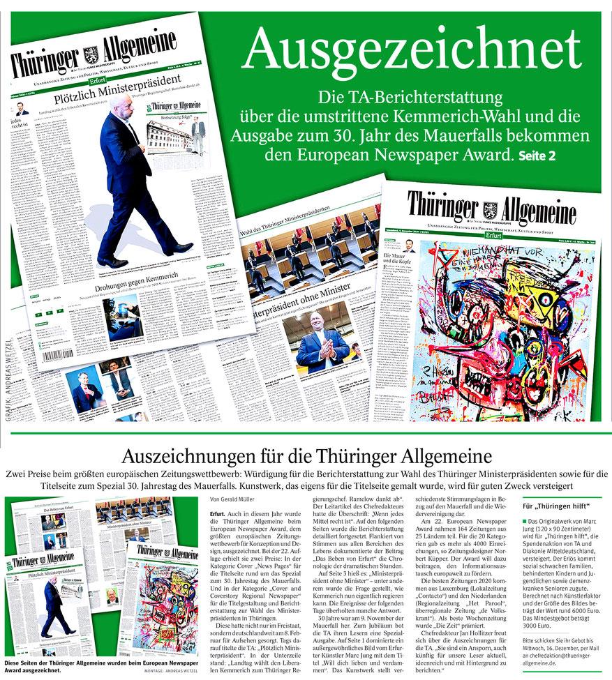 https://www.thueringer-allgemeine.de/leben/vermischtes/auszeichnungen-fuer-die-thueringer-allgemeine-zwei-preise-fuer-european-newspaper-award-id231121016.html