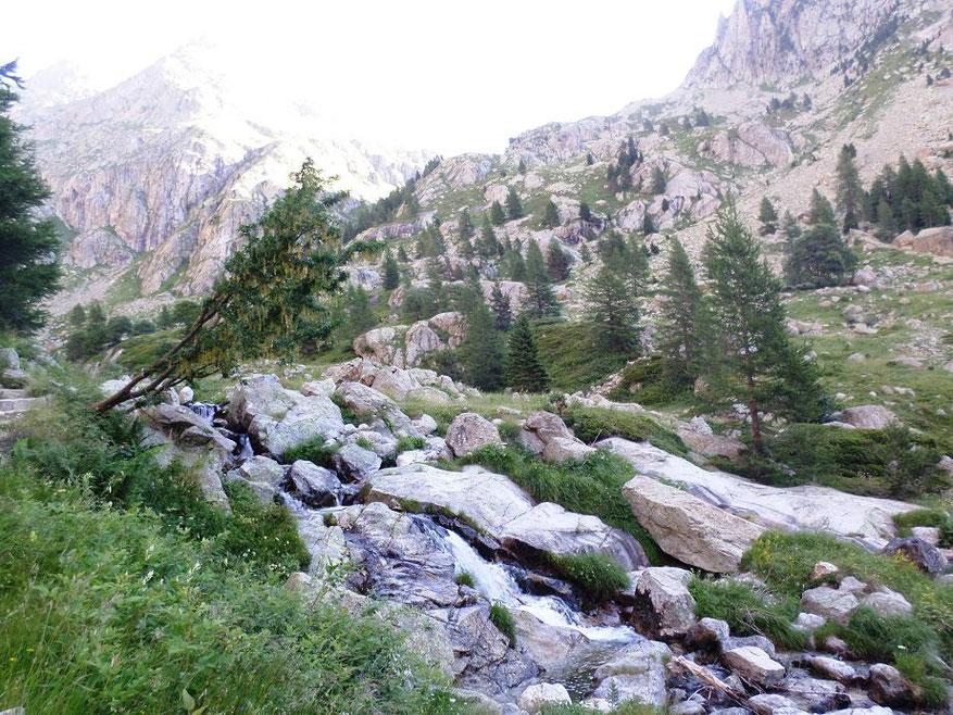 Montée tranquille dans la vallée