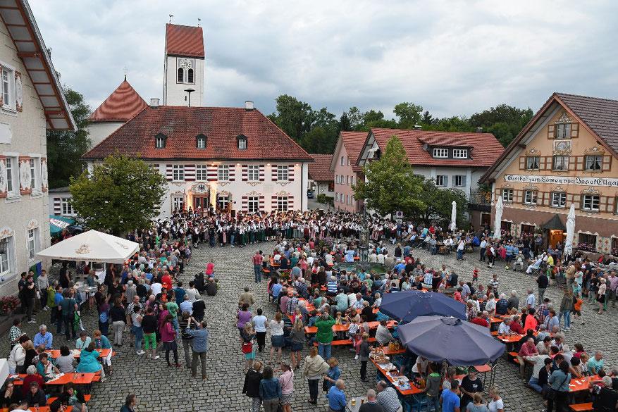 Dorfplatz Eglofs
