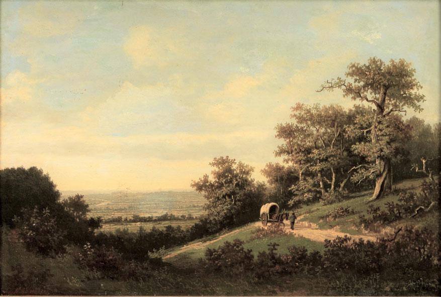 te_koop_aangeboden_een_schilderij_van_de_nederlandse_kunstschilder_marinus_adrianus_koekkoek_II_1873-1944