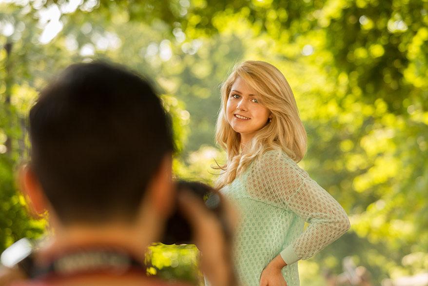Einsteiger Fotokurs Teilnehmer Fotografieren
