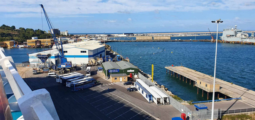 Anlegestelle auf Isle of Portland - Outer Coaling Pier