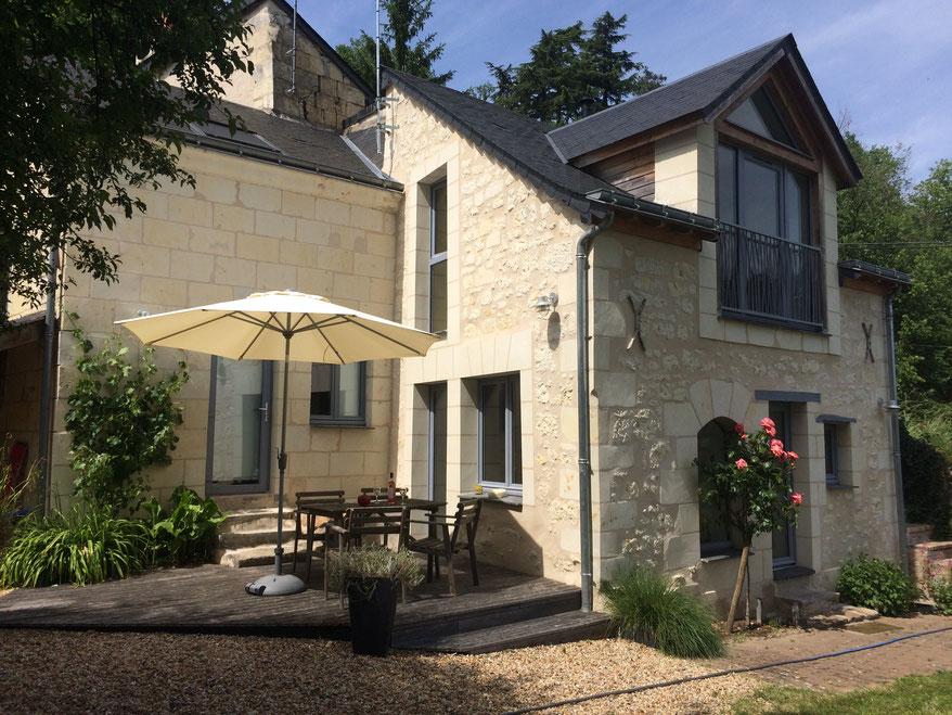Gîte, location de vacances à Gennes, Domaine de Joreau, gîte de la Belle Etoile près de Saumur, Val de Loire