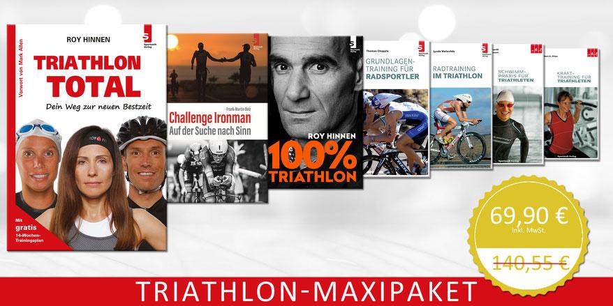 Triathlon-Maxipaket: So werden Triathleten schneller.