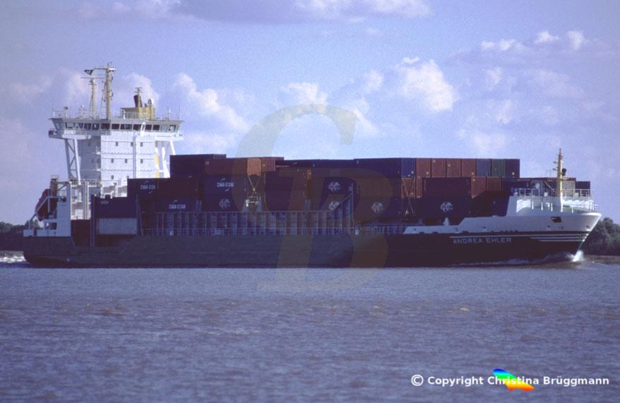 Containerschiff ANDREA EHLER, Sietas Typ 168