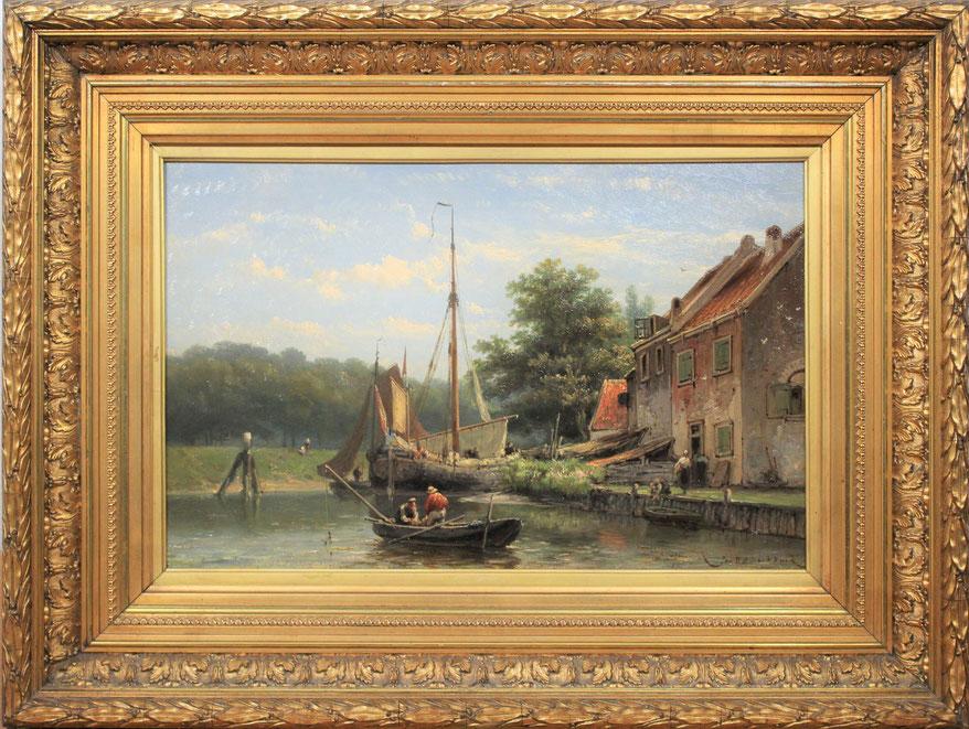 te_koop_aangeboden_een_schilderij_van_de_kunstschilder_johannes_hermanus_barend_koekkoek_1840-1912