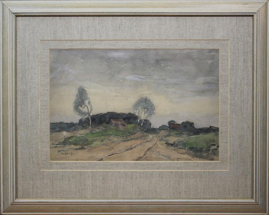 te_koop_aangeboden_een_aquarel_van_de_nederlandse_kunstschilder_paul_bodifee_1866-1938_veluwse_school