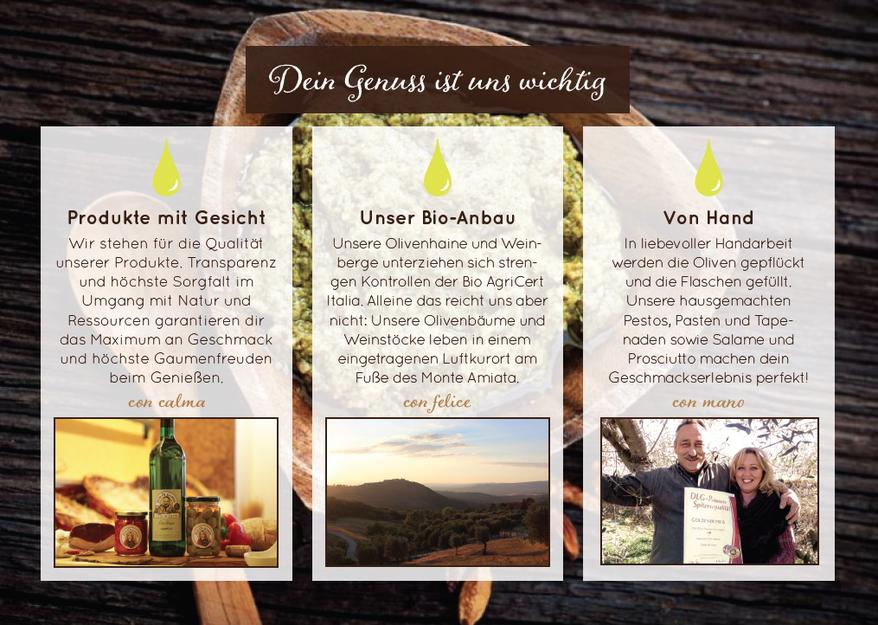 Bio Anbau, Qualität, Olivenhain, Toskana, Monte Amiata, von Hand gepflückte Oliven