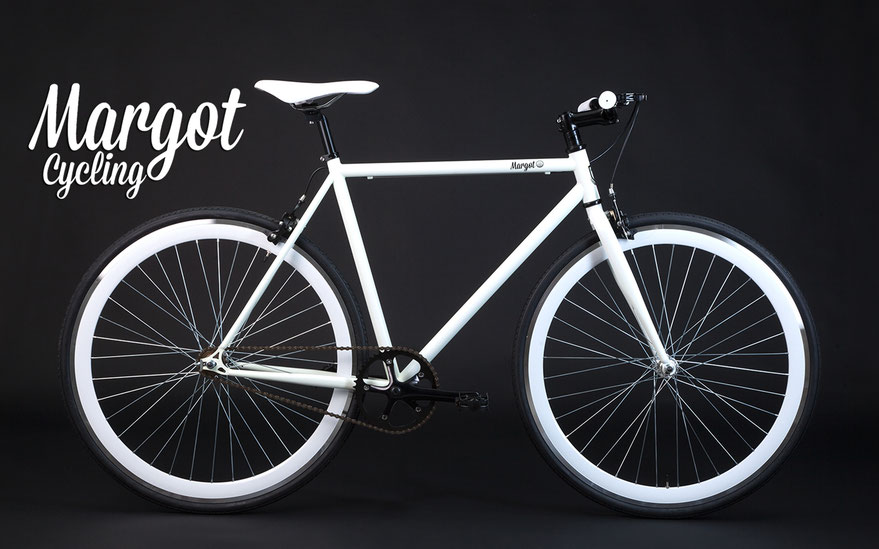 Bici scatto fisso SWAN. La single speed bike fosforescente, elegante e piena di vita