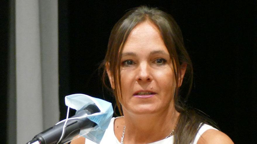 Die FDP-Fraktionschefin Annabell Krämer stellte Fragen an die Verwaltung