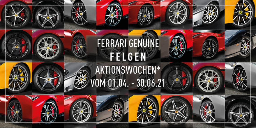 Scuderia GT: Ferrari Genuine Felgen Aktionswochen