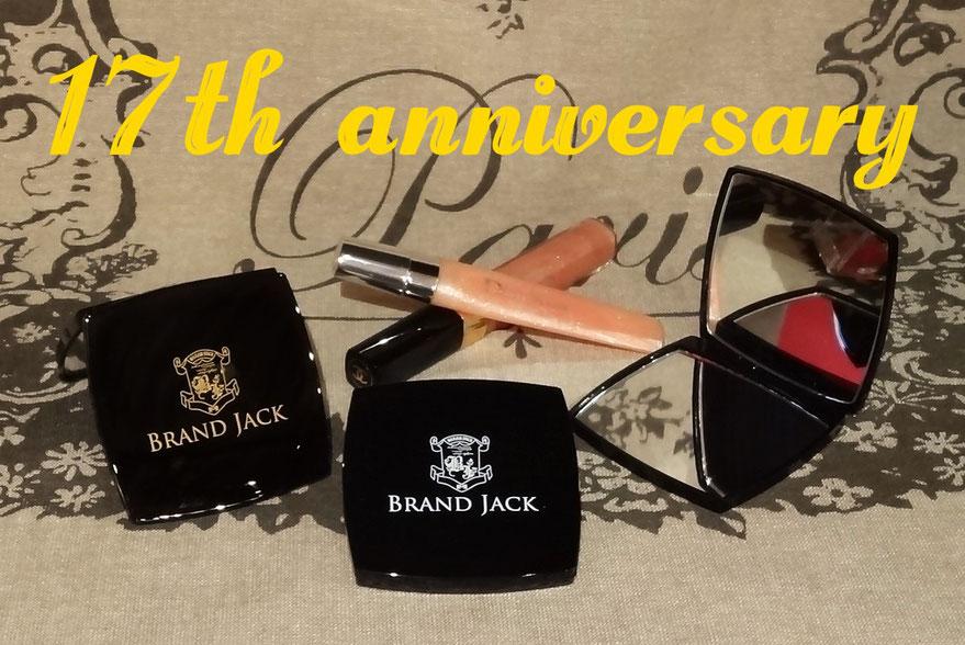 お陰様で創業17周年!BRANDJACKオリジナルコンパクトミラーをプレゼント!仙台市内4店舗