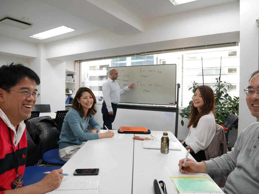 熱心で真面目な外国人講師 早く確実に上達します 名古屋駅、栄駅、金山駅近い 英会話スクール
