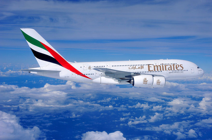 A380 from Emirates