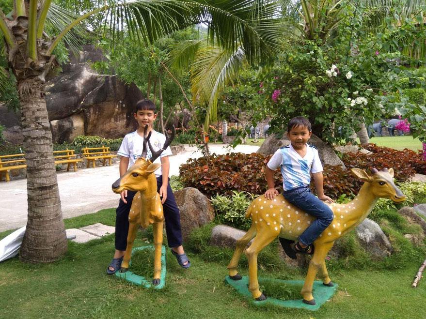 Minh und Dung Sommerferien  2018 in Nha Trang