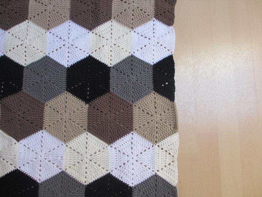 Neues Tutorial - Halbes Sechseck // New Tutorial - half hexagon ...