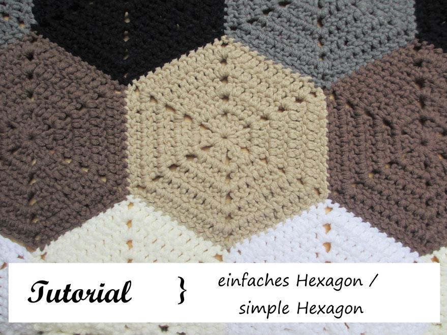 Tutorial Sechseck Häkeln How To Hexagon Häkeln Macht