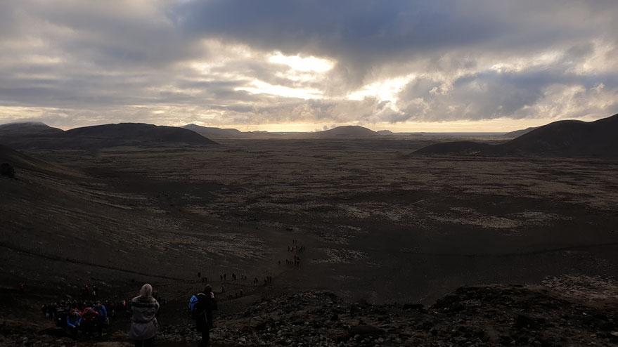 Der Weg zum Vulkan