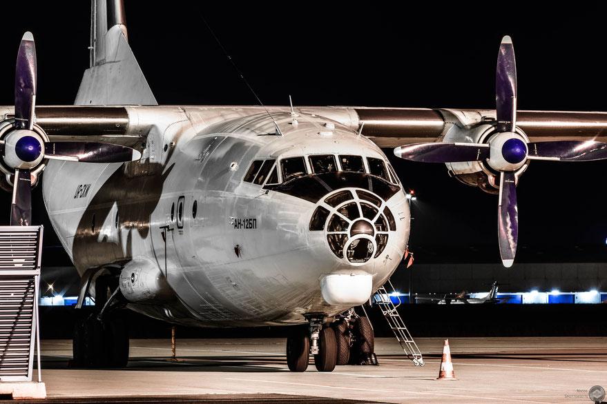 An-12 (UR-CKM)