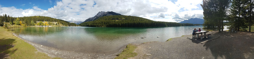 Two Jack Lake, Banff Nationalpark, Alberta, Kanada