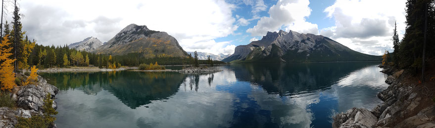 Lake Minnewanka, Banff Nationalpark, Alberta, Kanada