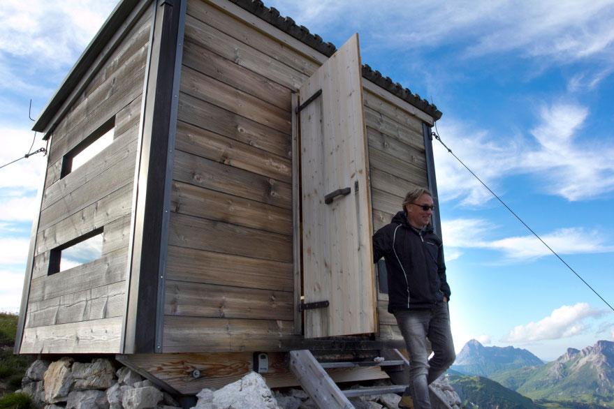 Bivouac kalnų trobelėje telpa keturi siauri gultai - Lech Zurs am Arlberg