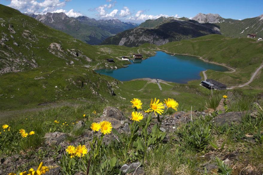 Ciūrso ežeras - Lech am Zurs