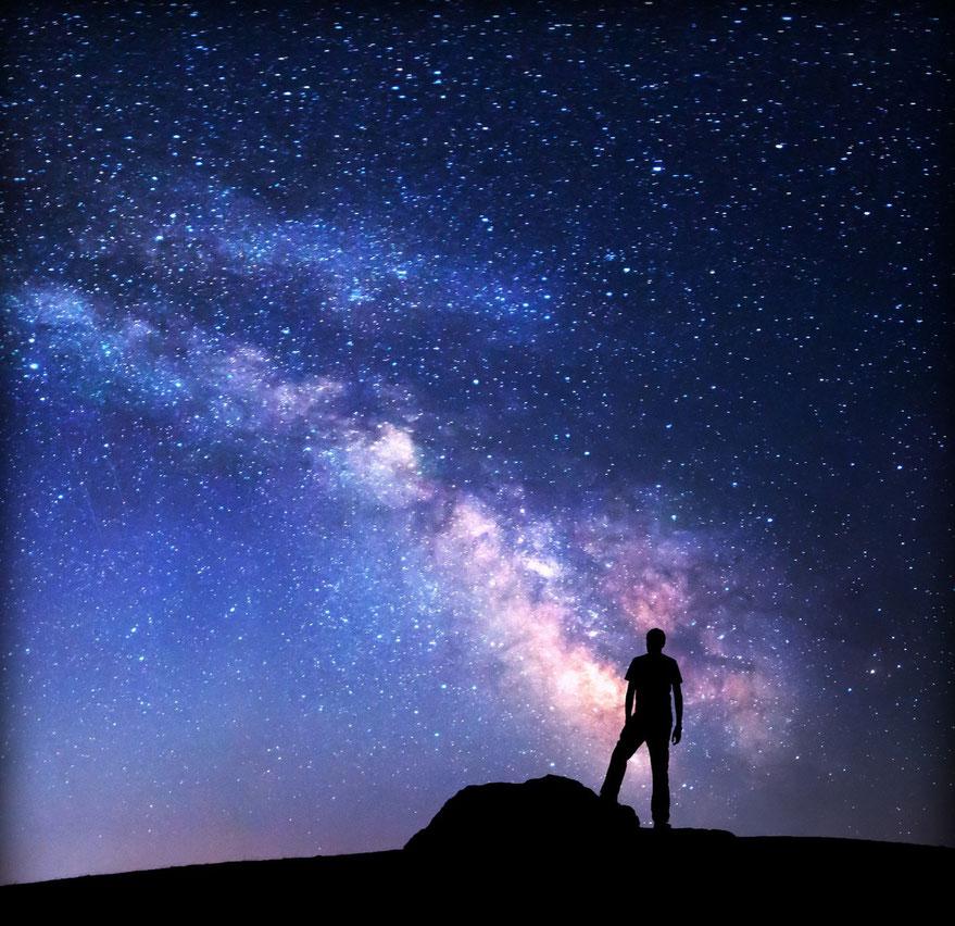 Faszinierender Sternenhimmel, Milchstraße, Milky Way