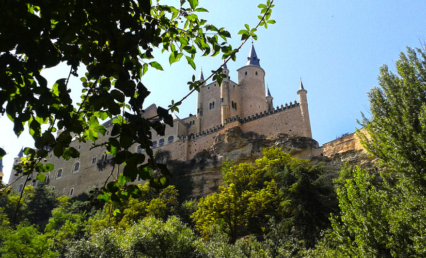 Alcázar y muralla de Segovia