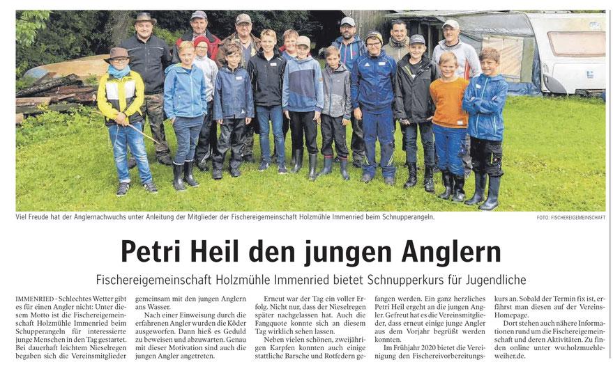 Schwäbische Zeitung vom 15.9.2019