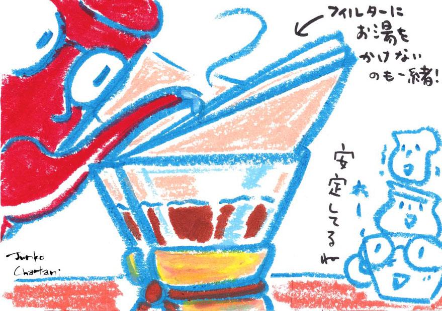 ケメックス コーヒーイラスト 茶谷順子