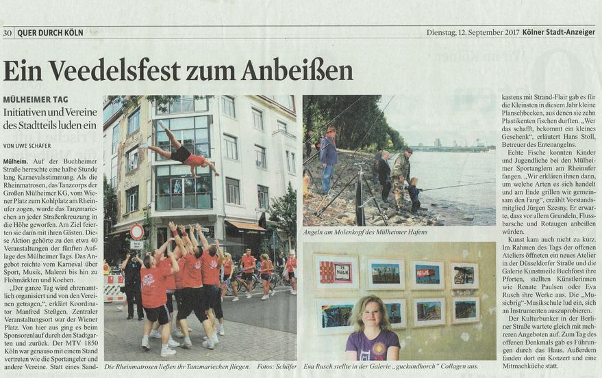 Kölner Stadtanzeiger vom 12. September 2017