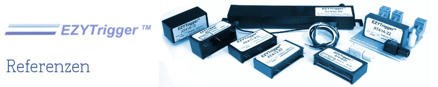 Thyristor Trigger Applikationen wie Hochleistungs-Gleichrichter, Batterie Ladegeräte und Anlagen, Gleichstromantriebe, Verstell- und Regelantriebe, Softstarter zur Einschaltstrombegrenzung, Induktive Heizanlagen, Förderanlagenantriebe und Kühlanlagen