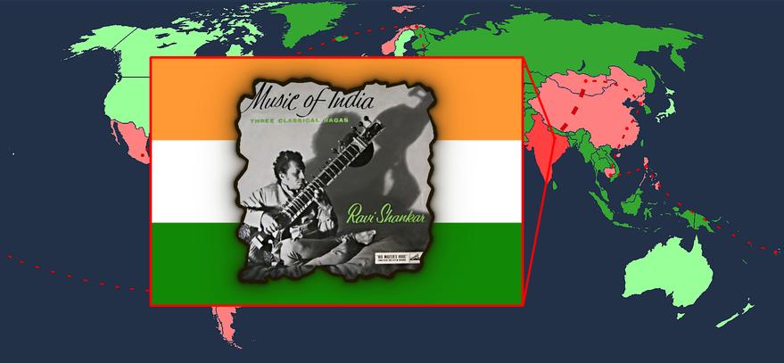 MusicManiac World Tour Karte