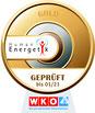WKO Humanenergetik Gold Zertifikat Auszeichnung