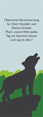 Valerie Forster, Bonusmaterial, Lesezeichen 1, Der kleine GROSSE Wolf