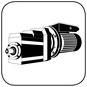 Stirnradgetriebe mit WE Elektromotor B14 kl Flansch