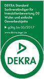 Die DEKRA-Zertifizierung des Immobiliengutachters sichert eine hohe Qualität des Immobiliensachverständigen
