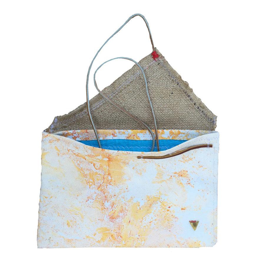 Jordan bag - front opened