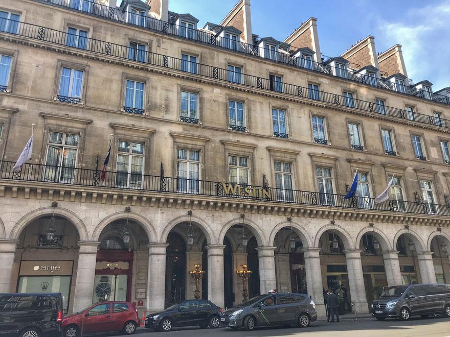hotel westing paris vendome