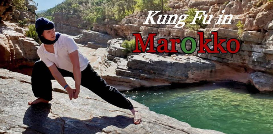 Kung Fu Technik in Marokko