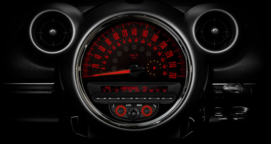 R60 CROSSOVER R61 PACEMAN MINI専用メーター model-CROSSOVER インテリアパーツ 内装
