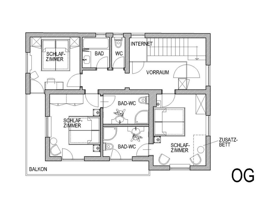 Plan from Upper floor