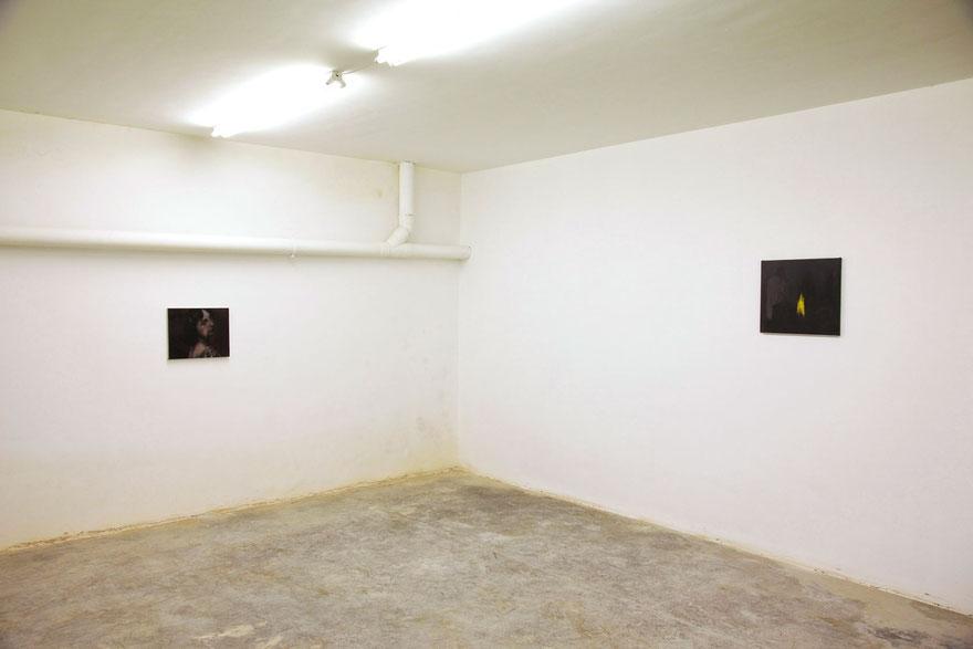 Installation view Espazo Nonlugar, Lalín, 2013. Nacho Martín Silva Photo: Miguel Calvo