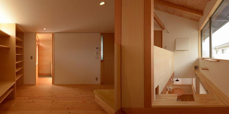 建築家 住宅設計 長野県松本市・安曇野の建築設計事務所 大町の家Ⅱ 大町市 猫と暮らす小さな家