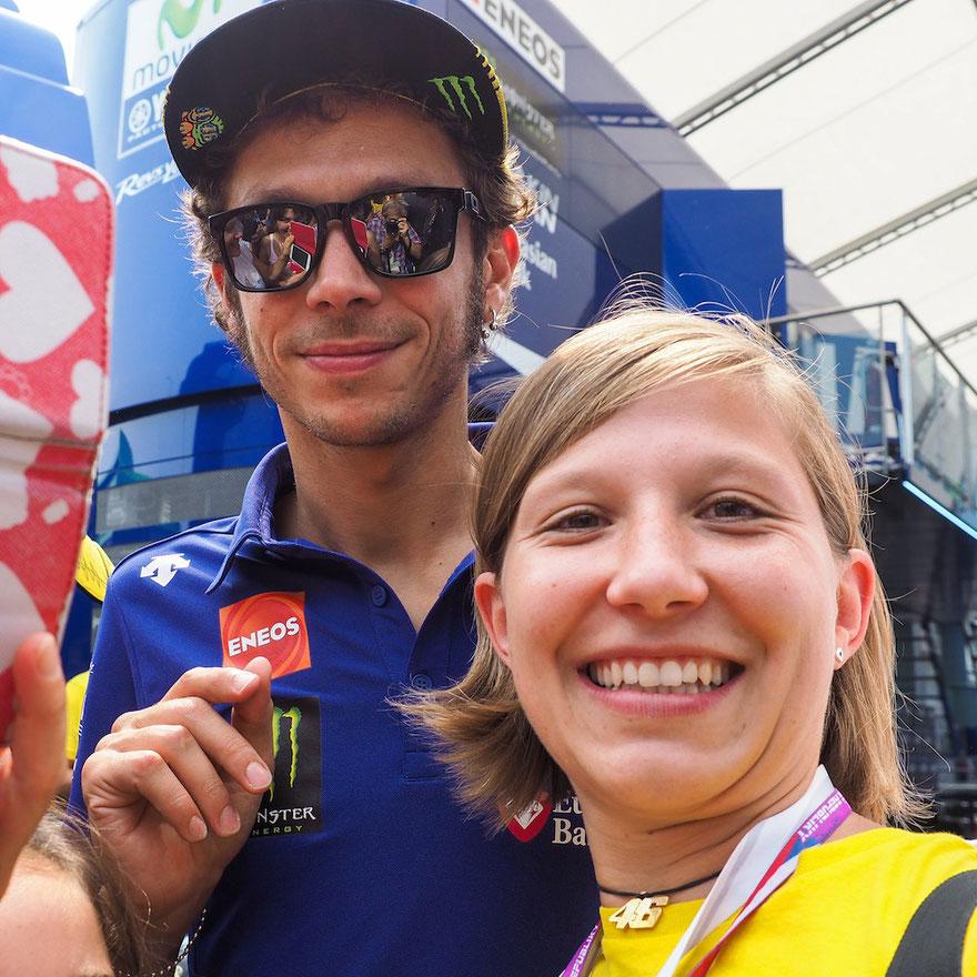 Etwas für MotoGP Fans!   Valentino Rossi mit Daniela