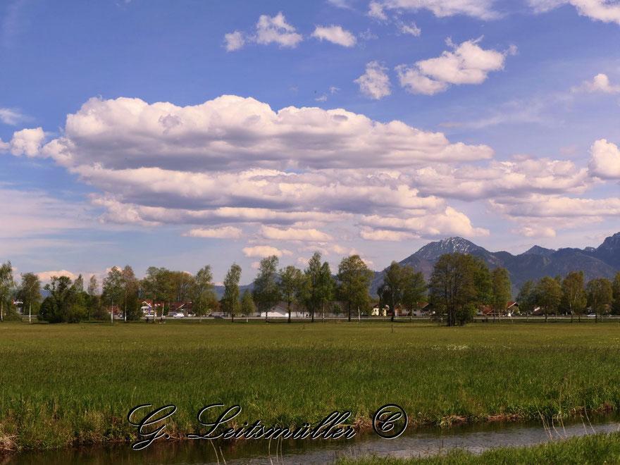 Wanderung von Prien am Chiemsee nach Felden