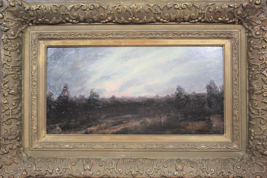 te_koop_aangeboden_een_heide_landschaps_schilderij_van_de_nederlandse_kunstschilder_willem_wenckebach_1860-1937
