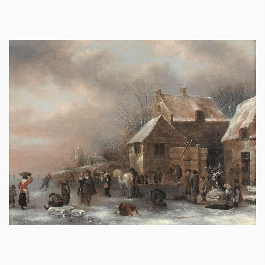 te_koop_aangeboden_een_17e_-eeuws_ijsgezicht_van_de_nederlandse_kunstschilder_nicolaes_molenaer_1626/1629-1676_gouden_eeuw
